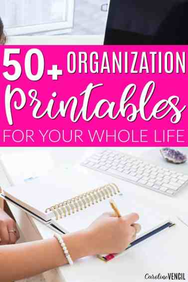 These are the best free printables! Everything that I need to organize my budget, my home, my finances, my passwords... everything is right here! These are the best printables to organize your home. Best life planning printables. Best life free life planner printables. Best free budget printables. Great free organizational tools. Free organizing printables. Best Organizational Printables for Your Whole Home.