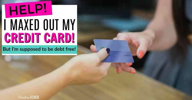I love this! This is SO helpful! I'm so glad that someone finally talked about trying to get out of debt and back tracking. If you want to get out of debt, you need to save this post! It will definitely come in handy when you have your first slip up! How to get your debt free journey back on track. Become debt free. How to fix your spending when you need to get out of debt. What To Do When You've Racked Up More Debt