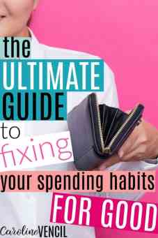 This is so great! I never thought of spending money like this until now! Seriously, this is exactly what I needed to read today! I love how honest and real she it! She's got the best budgeting blog! Learning how to save money never looked easier! She makes it so easy to save money and live well! I can't wait to share this with my sister! The Ultimate Guide to Changing Your Spending Habits