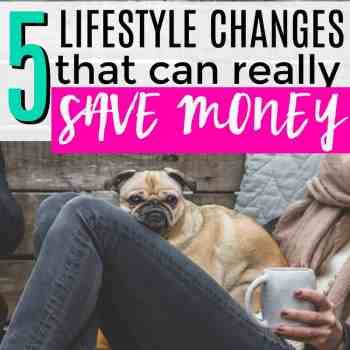 5 Lifestyle Changes to Really Save Money