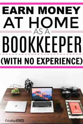 This is so great! I had no idea that you could make a full time income from home as a bookkeeper! Literally living the dream! This is the best side hustle. She has the best blog for making money from home legitimately! Love this! Have to share it with sis.