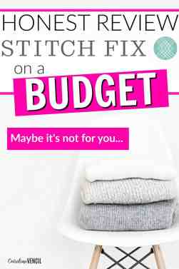 This is GREAT! I love watching Stitch Fix unboxing! This is the best Stitch Fix review I've seen! She's so honest about it and I love that she shared how easy it all was! This Stitch Fix review for a budget is everything that I needed to know about for myself. She convinced me to give Stitch Fix a try, but I'm really glad she was so honest about the clothes and the prices! An Honest Review of Stitch Fix on a Budget