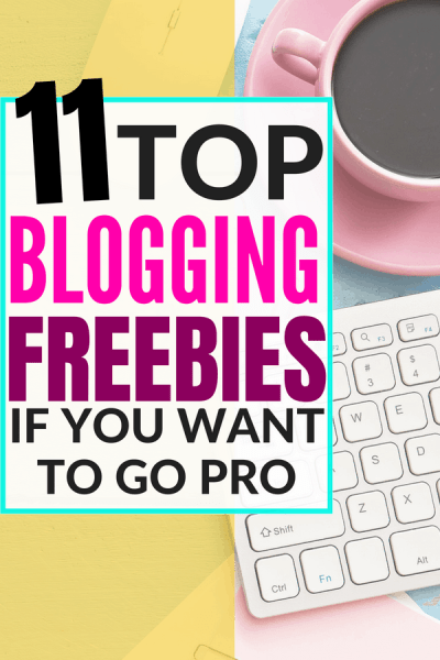 The best blogging printables, ebooks and courses that you can get for free to learn how to make money blogging. If you want to start a blog on a budget, this is perfect for you. Make money from your blog fast. #blog #blogging #makemoney #workathome #income
