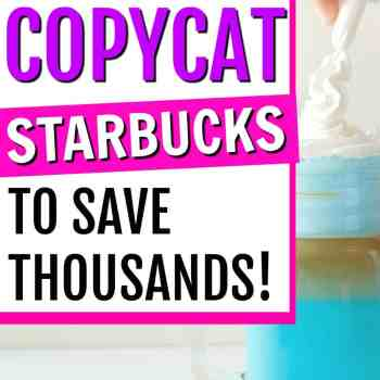 What You Need to Make Starbucks Recipes at Home to Save Thousands