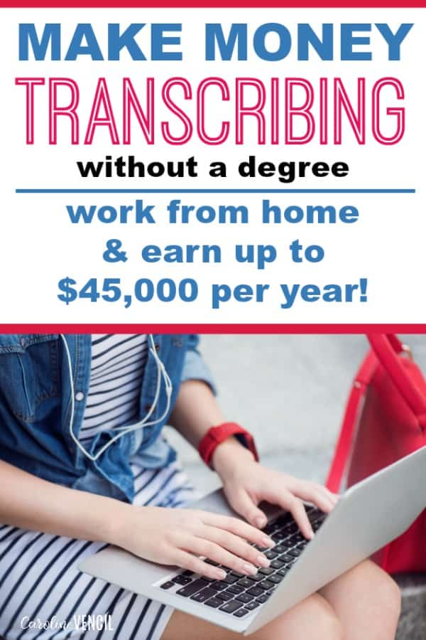 How to Work at Home as a Transcriptionist – How to start earning money from home by transcribing anywhere! Learn about work at home transcription jobs! How one woman makes a full-time income from home as a medical transcriptionist legitimately as a side hustle.