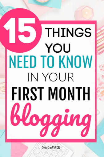 confused about How to Start a Blog and MAKE MONEY with it? This is the info you've been looking for as a brand new blogger! A FREE tutorial for beginners! (I followed these steps and now I make over 10,000/month from blogging!) Tips and ideas for your first month blogging and how to start a blog the right way to make an income blogging quickly and easily!