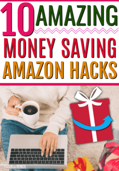 10 Amazong Money Saving Amazon Hacks for the Christmas Holiday Season. How to save more money from Amazon with these crazy Amazon hacks that could save you thousands. I had no idea about #5! If you want to save money while shopping online, this is the resource you need!