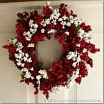 Easy DIY Dollar Store Christmas Wreaths