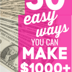 50+ Ways to Make $1000 a Month From Home