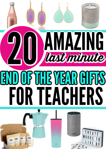 Celebrate those hard-working teachers with a little extra something special, these 60 Teacher Appreciation Gift Ideas will be a hit! Best Cheap Last Minute End of the Year Gifts For Teachers On a Budget. What to get for teachers at the end of the year that they'll actually like, want and use.