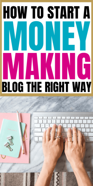 How to start a blog and make money in 2019 - blogging is the best work from home idea I ever had - I LOVE making money as a stay at home mom, and this is step by step EXACTLY what you need to know to start a blog on wordpress! Do you want to start a blog and make money blogging? Starting a profitable blog has changed my life. In this post I'm telling you exactly how I did it; the exact steps I took to create a blog that made money from Day 1 and how you can start a money-making blog, too. Anyone can start a blog and make money from it. The secret to becoming a full-time blogger is here!