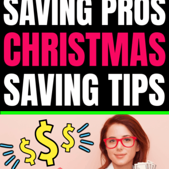 The best money saving tips tricks and hacks for Christmas shopping and spending from the best money saving pros and gurus. Learn how to save more this holiday season when you shop using these amazing hacks. Save big shopping around the holidays.