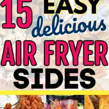 Easy and delicious air fryer recipes for sides and side dishes that you can use for total beginners. Yummy and simple things you can make fast. Perfect for parties and tailgating parties.