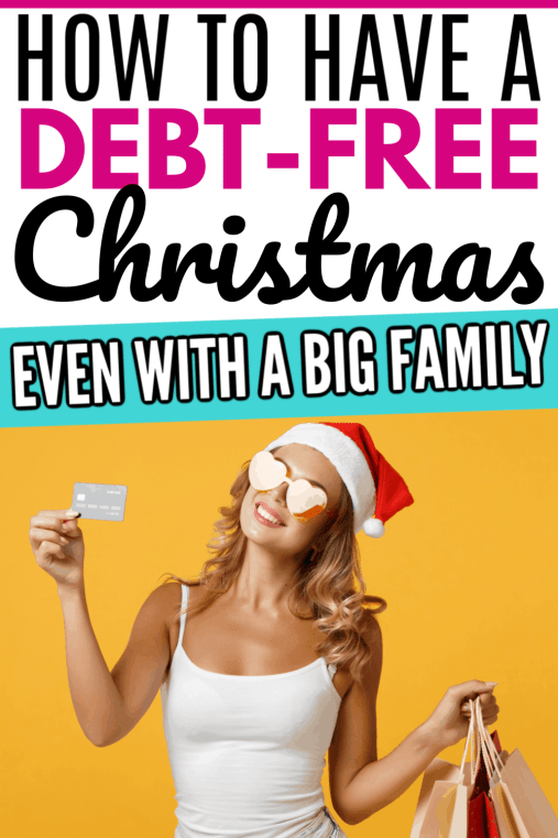 Want to know the secret of how to have a debt free Christmas and how to stay on budget the whole season? Tips tricks and hacks to stay on budget and out of debt at Christmas even with a big family.
