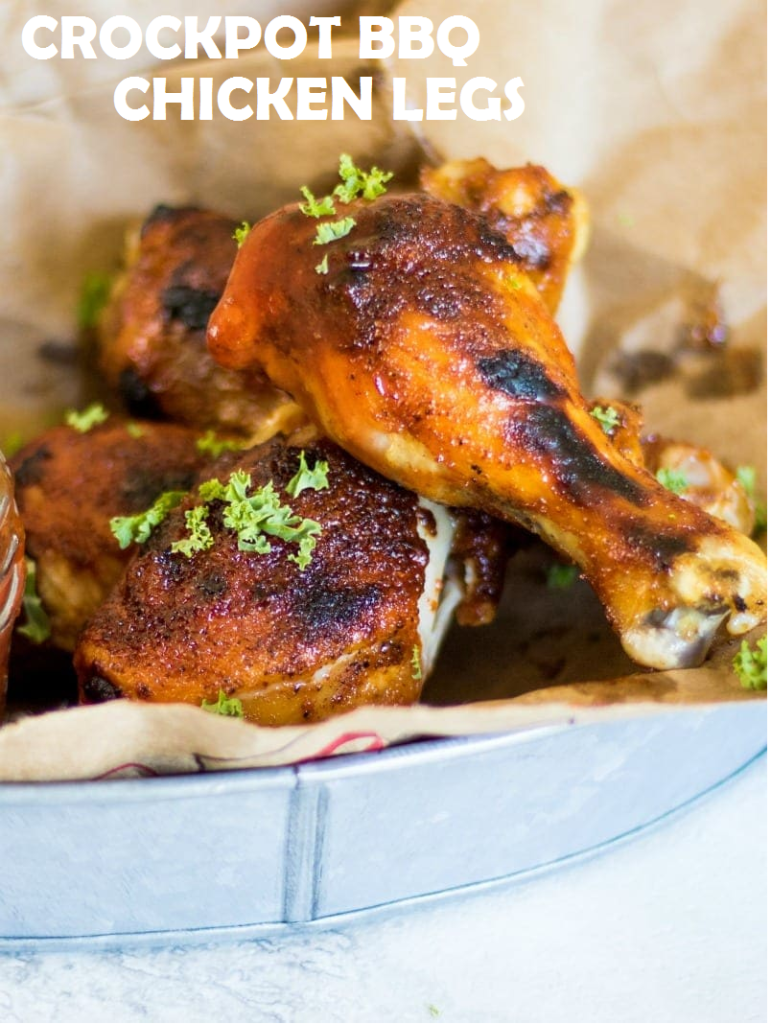 Crockpot BBQ Chicken Legs
