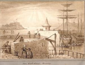 Castle-Cornet-Pier-Heads-Guernsey-Cecilia-Markham-1831-300x229 Author's Blog Guest Author