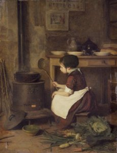 Brooklyn_Museum_-_The_Little_Cook_La_Petite_cuisinière_-_Pierre-Édouard_Frère-230x300 Author's Blog Highlighting Historical
