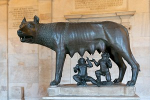 Romulus-Remus-and-She-Wolf-300x200 Author's Blog Highlighting Historical