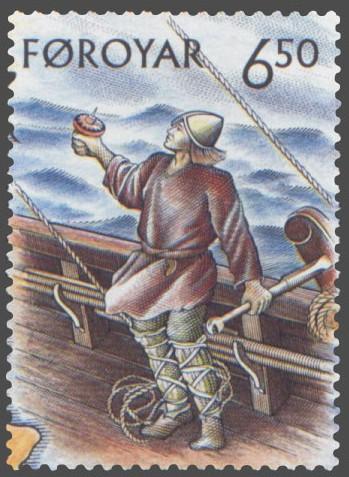 Faroe_stamp_407_helmsman Author's Blog Highlighting Historical
