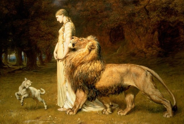 1024px-Briton_Rivière_-_Una_and_the_Lion But First Coffee