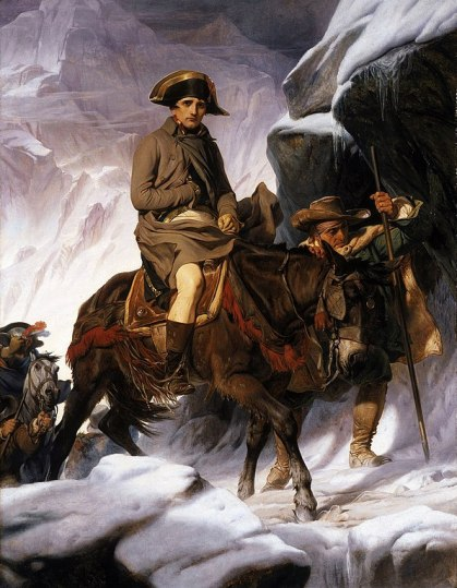 596px-Paul_Delaroche_-_Napoleon_Crossing_the_Alps_-_Google_Art_Project_2 Highlighting Historical Romance