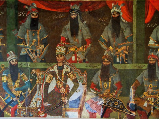 agha-mohammad-Khan-Qajar Highlighting Historical Romance