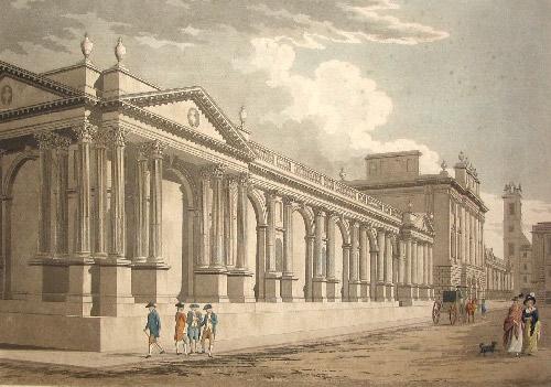 Thomas_Malton_after_Sir_Robert_Taylor_PrincipalFront_ofBankofEngland1791-1 Highlighting Historical Romance