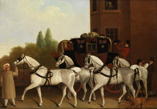James_Jacques_Laurent_Agasse_attr_Edinburgh_and_London_Royal_Mail-1024x710 WIP Wednesday