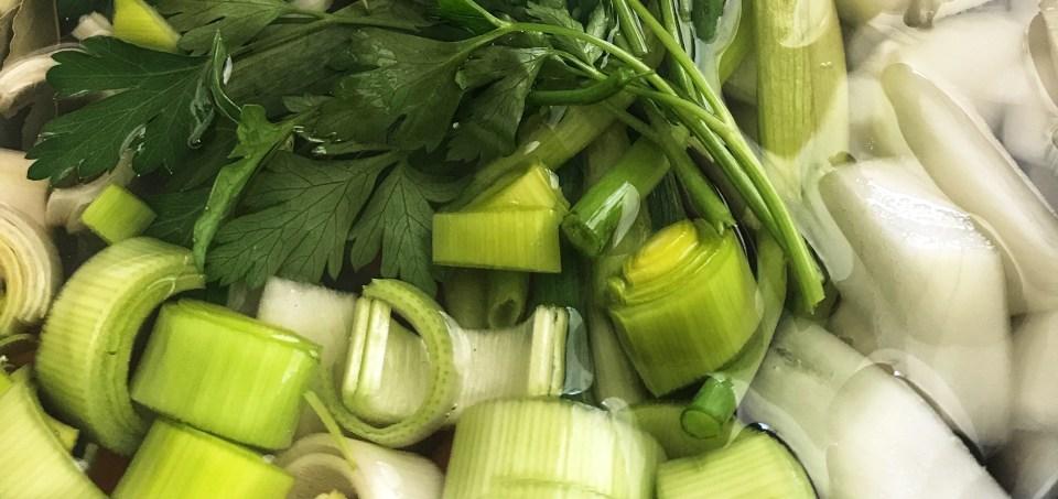 279. Caldo de legumes para congelar