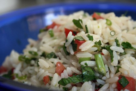 115. Salada de arroz do Jamie