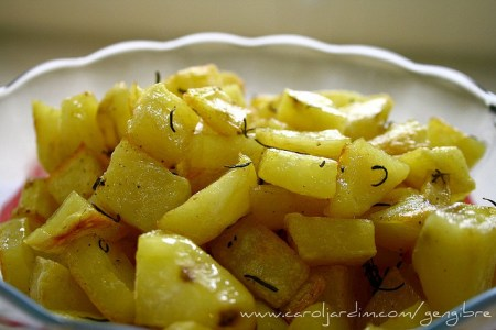46. Batatas assadas com alecrim
