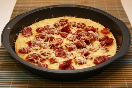 219. Pizza sem crosta da Nigella