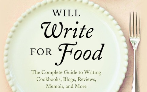 Na estante: 'Will Write for Food'