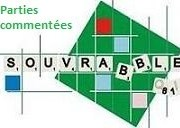 Partie de l'interclubs Souvrabble B – Berni'scrabble du 4 octobre