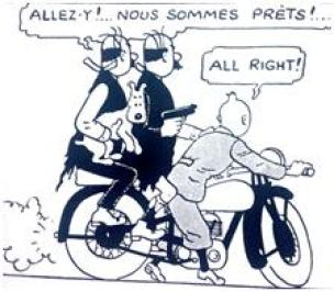 tintin episode un =10 all right dupondt