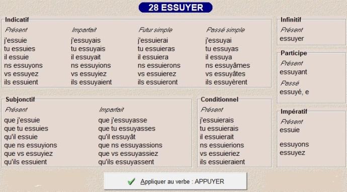 La Conjugaison Des Types 25 27 Et 28 Caroloscrabble