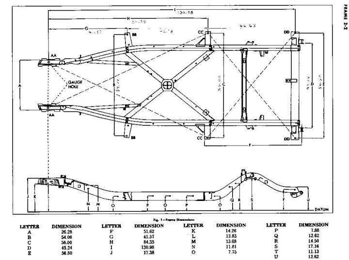 C4 Corvette Frame Dimensions Lajulak Org