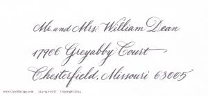 MediumCopperplate gray address