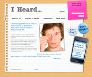 Protosite for iheard.org