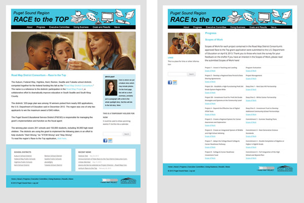Race to the Top, visual concepts 2
