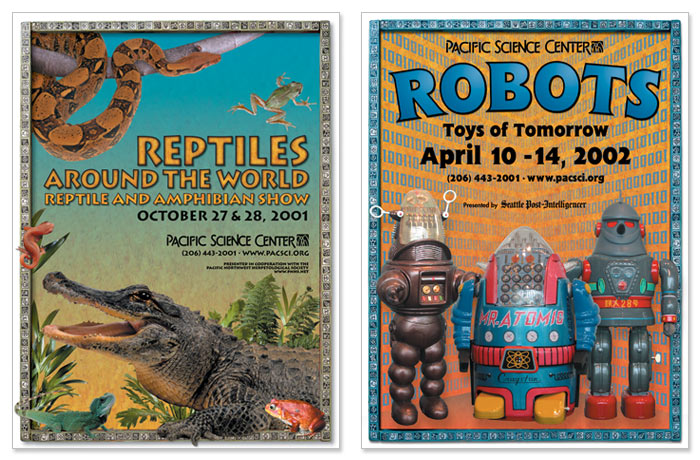 """Reptiles Around the World"" and ""Robots"""