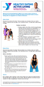 YMCA eNewsletter