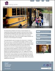 Haring Center website