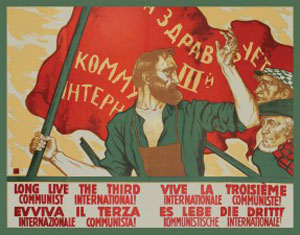 """Long Live The 3rd Communist International"" poster"