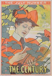 The Century, Edward Potthast, 1896, Lithograph.