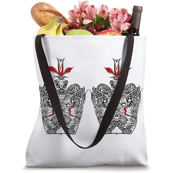 Inspired by nature regal two crowns design on a tote bag for sale on amazon
