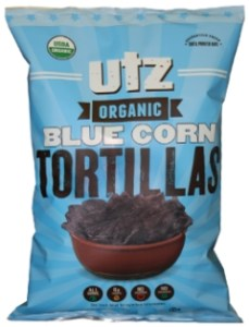 UTZ Organic Blue Corn Tortillas