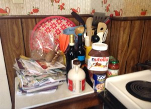 Cluttered Countertop 3