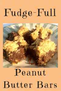 Fudge-Full Peanut Butter Bars