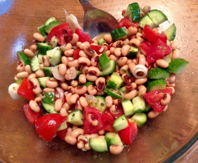 favorite picnic recipes  spicy blackeyed pea salad
